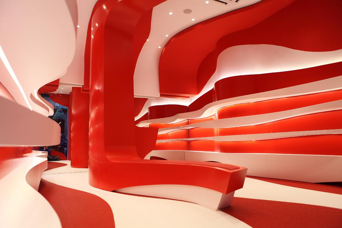 Arquitectura arquidea dise o de interiores para una tienda - Diseno interiores granada ...