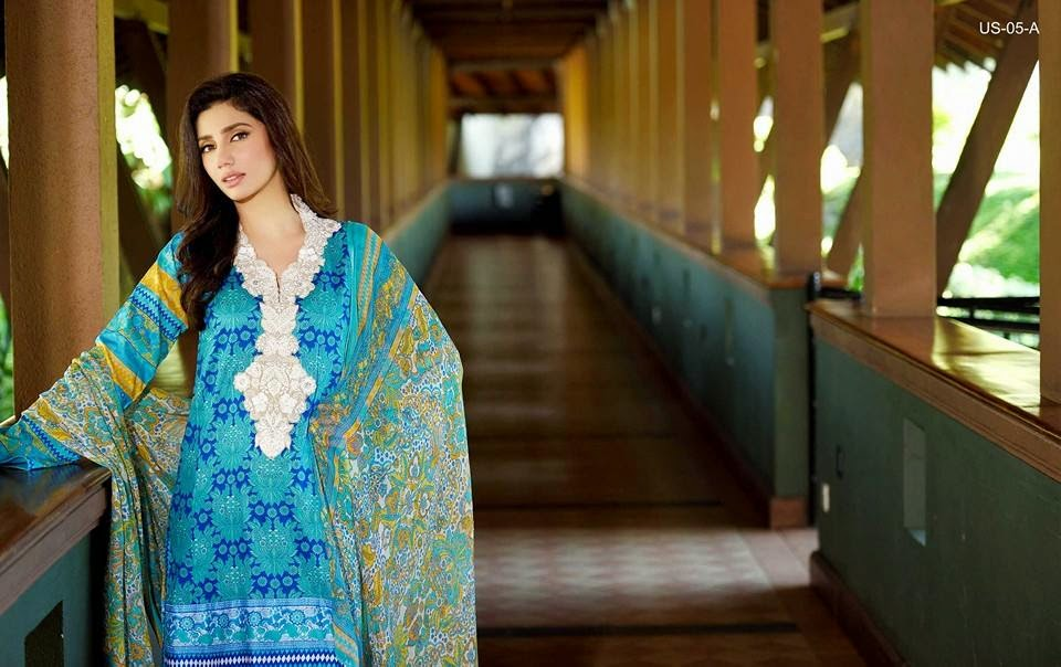 Umar Sayeed Summer Lawn Collection 2015