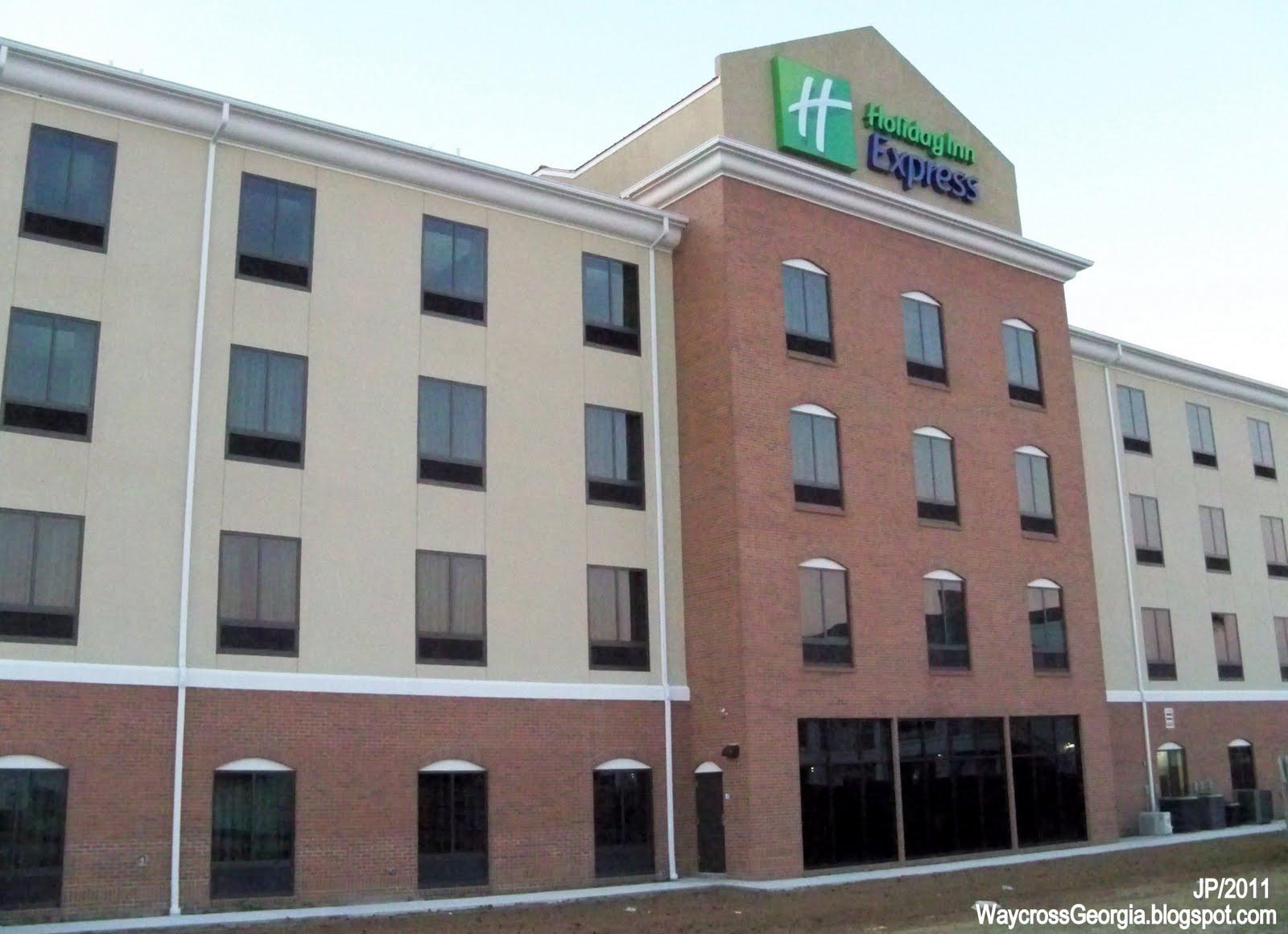 Holiday Inn Express Hotel Waycross Georgia Suites Ga Ware County Lodging