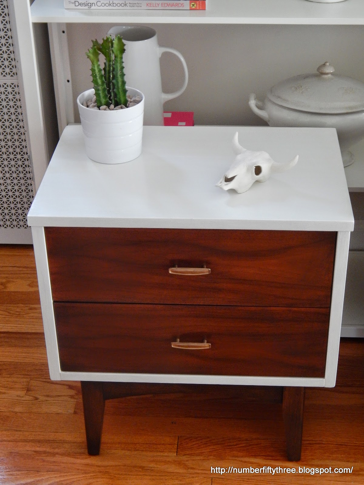 Painted U0026 Stained Mid Century End Tables