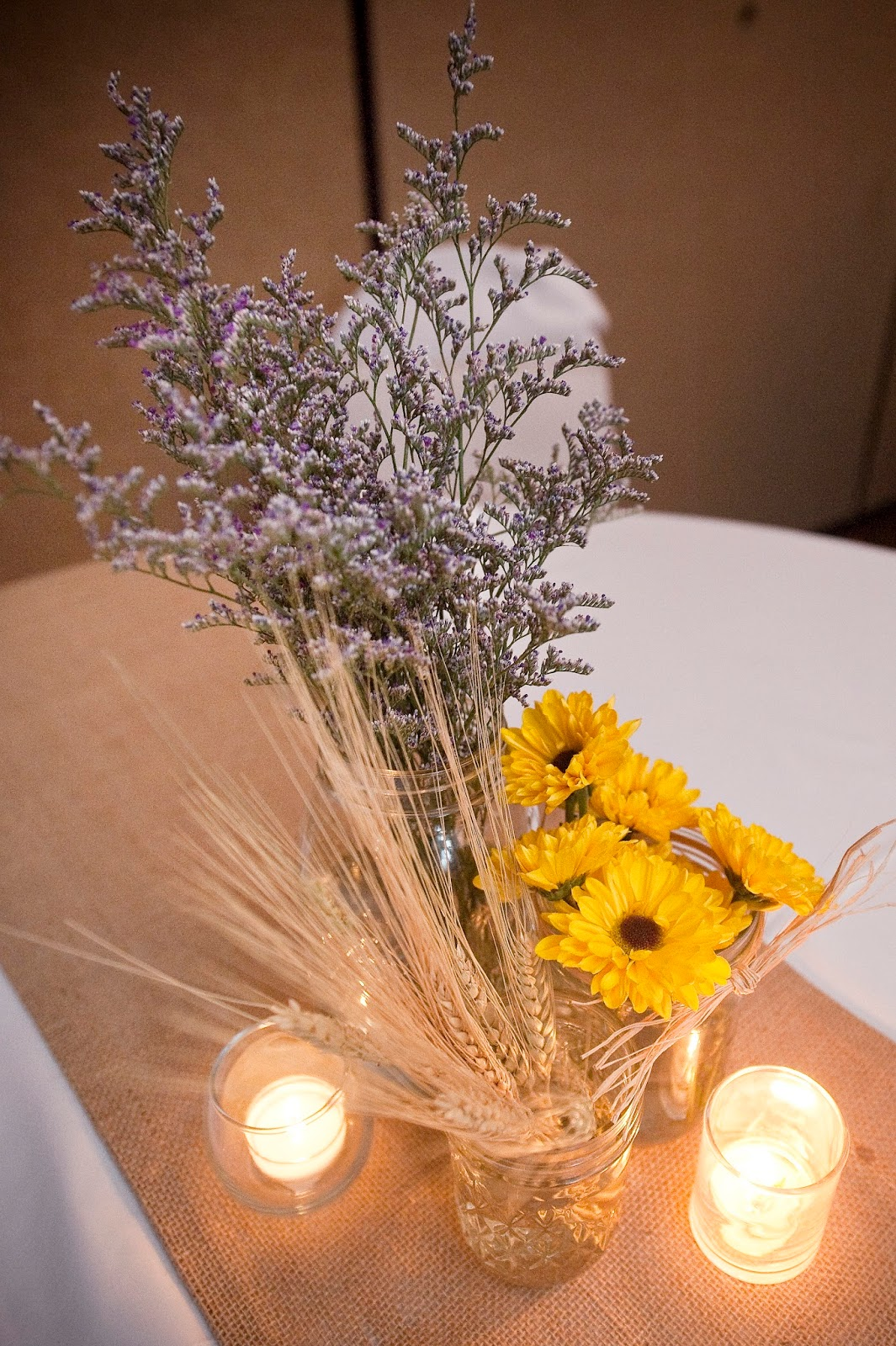 mason jar wedding decoration