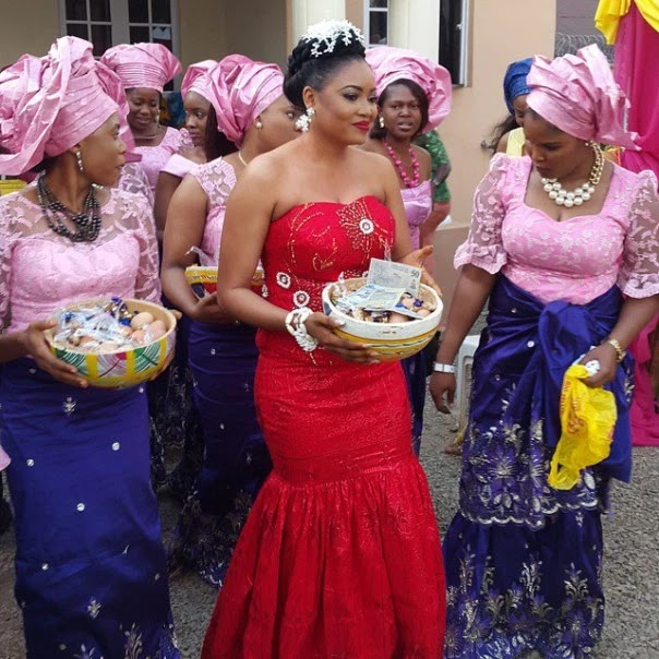 Collection Of Female Traditional Wedding Attire In Nigeria