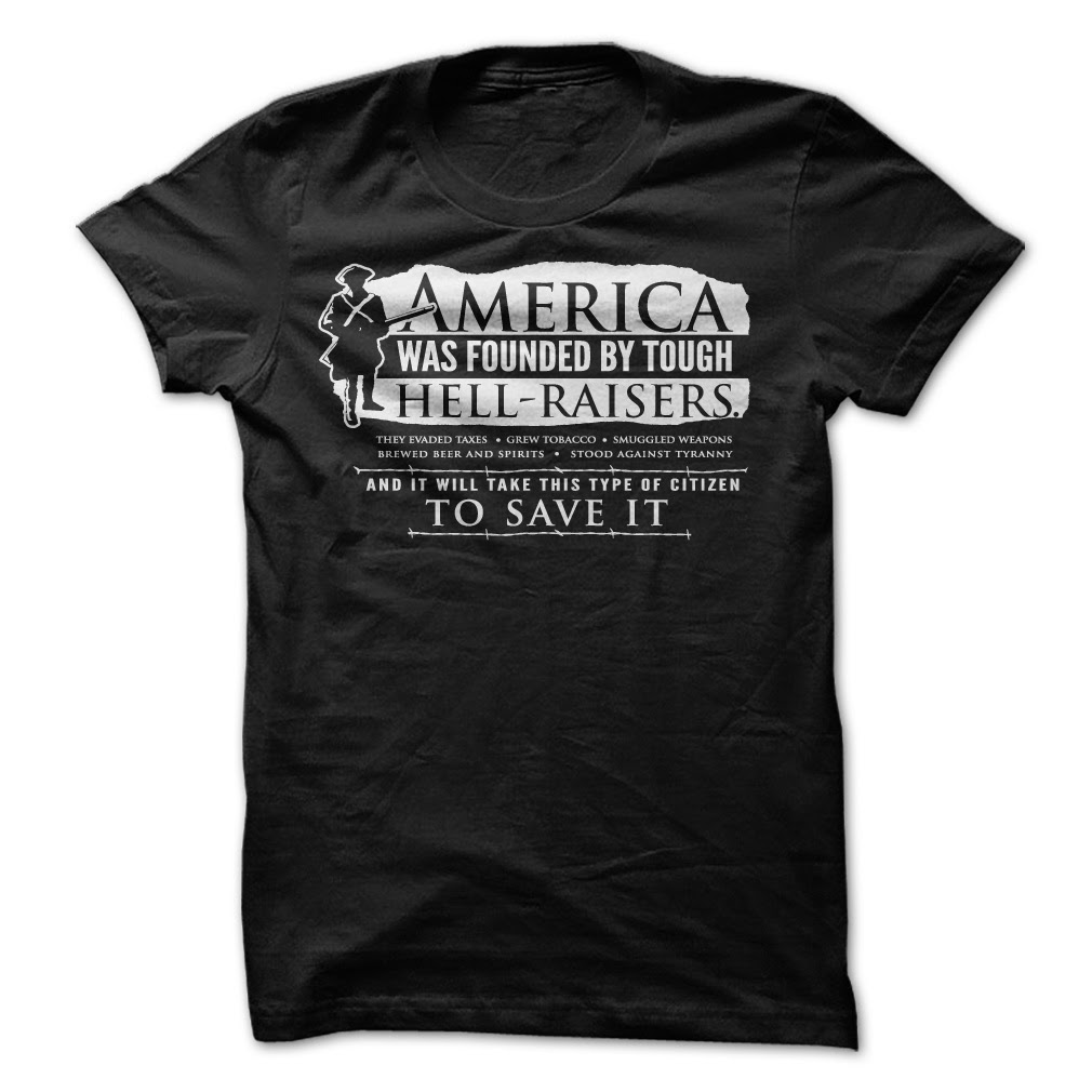 America Was Founded Guys & Ladies Shirt