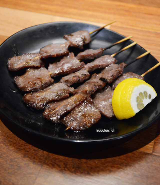 Ox Tongue - RM17 per skewer