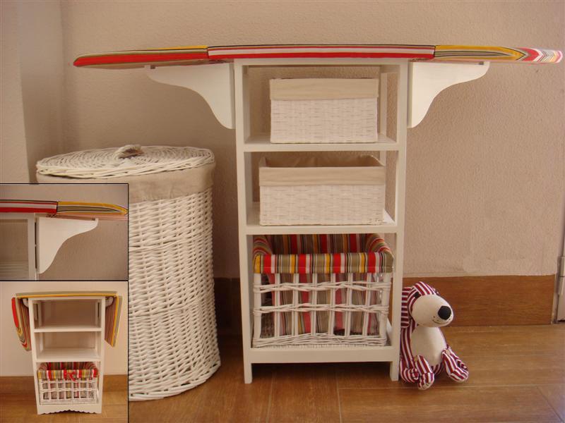 La mimbrera shop mueble de plancha - Mueble de planchar ...