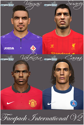 PES 2014 Facepack Internacional v2 by m4rc310