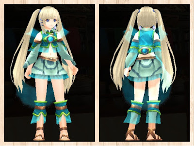 水纏の衣 蛍光緑3