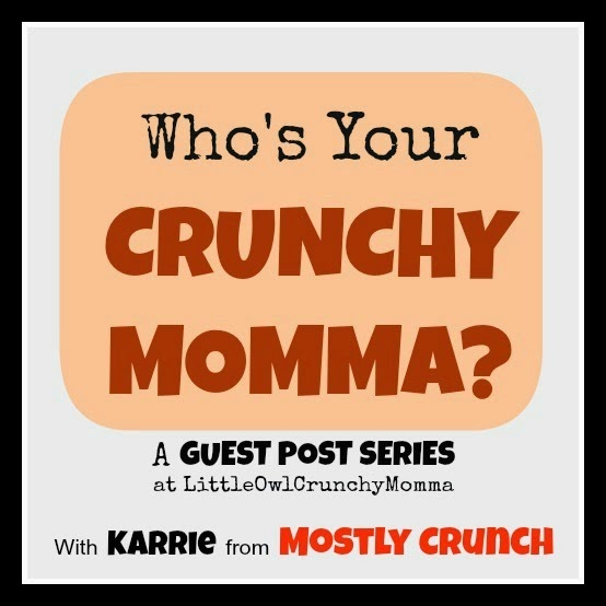 http://littleowlcrunchymomma.blogspot.com/2014/03/whos-your-crunchy-momma-guest-post.html