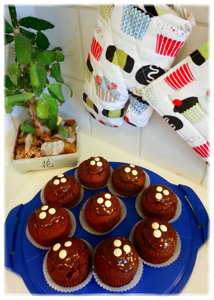 baka chokladcupcakes