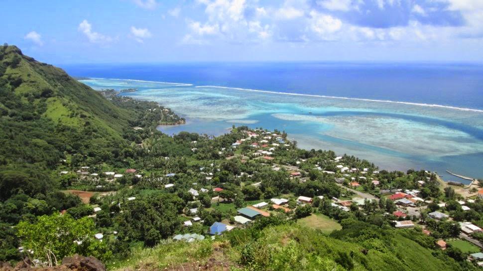 Papetoai Moorea Polynésie française