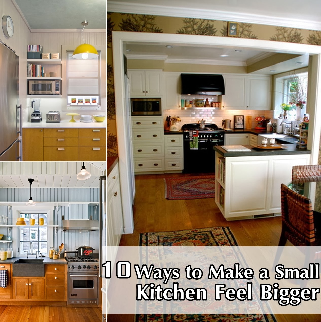 Yourself Bathroom how to make a small kitchen bigger only differences