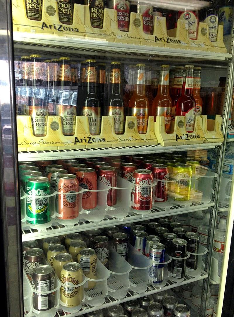 Sodas at Cecil's Deli