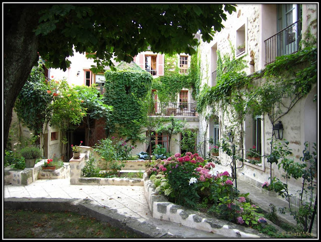 Chambre Hôte Fleur de soleil La Closerie des 3 Marottes Melun terrasse