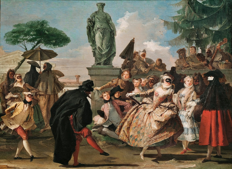 Giovanni Domenico Tiepolo - The Minuet