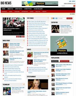 Big News - WordPress Theme for News Blog