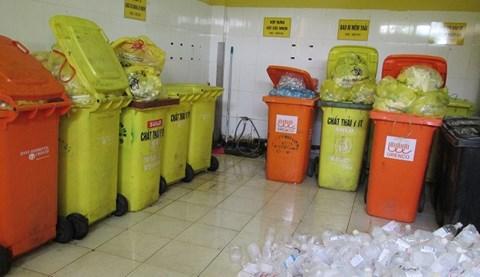 Phòng để rác dự án Eco Green City