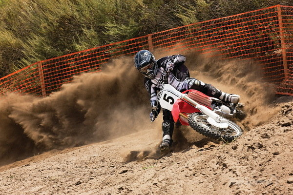 Honda CRF250r Dirt Bike Wallpaper