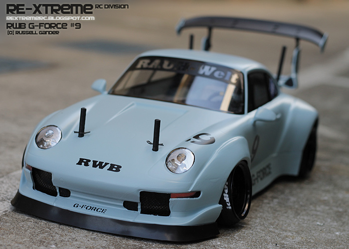 re xtreme rc rwb g force 9 first light. Black Bedroom Furniture Sets. Home Design Ideas
