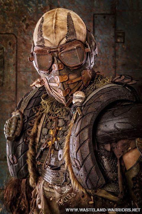 Hunter Armor Wasteland%2Bwarriors%2Blarp%2Bcostume