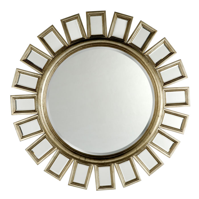 A lived in home starburst mirrors for Mirror z gallerie