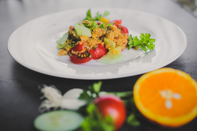 Quinoa Salat vegan