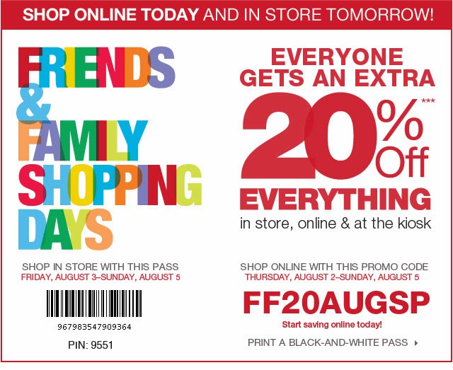 Kohl's Printable Coupons 2014