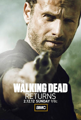 The Walking Dead, season 2, promo poster, Rick Grimes