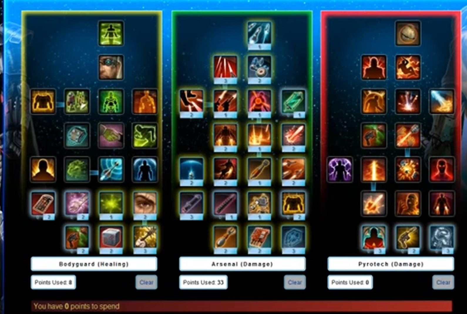 Swtor Best Bounty Hunter Leveling Build