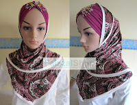 SHAWL COTTON & INNER TURBAN