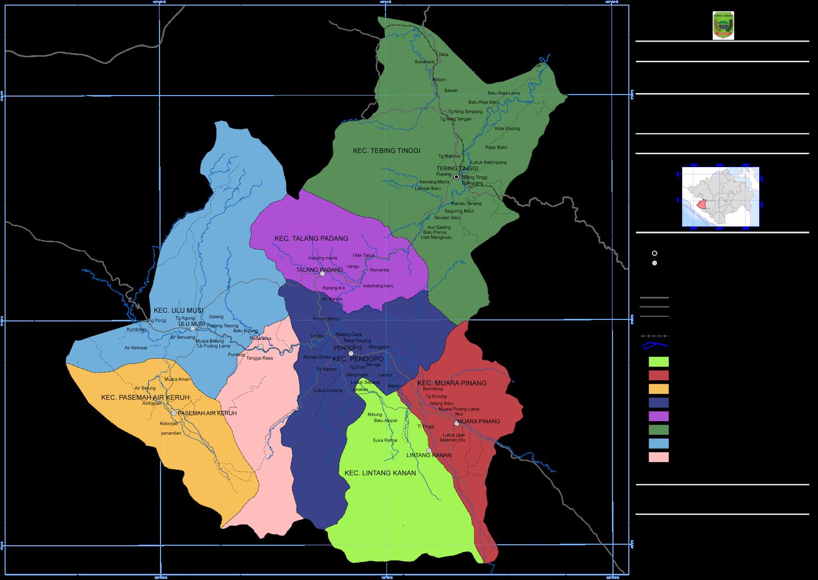 tentang kabupaten empat lawang emas sumatera selatan betara