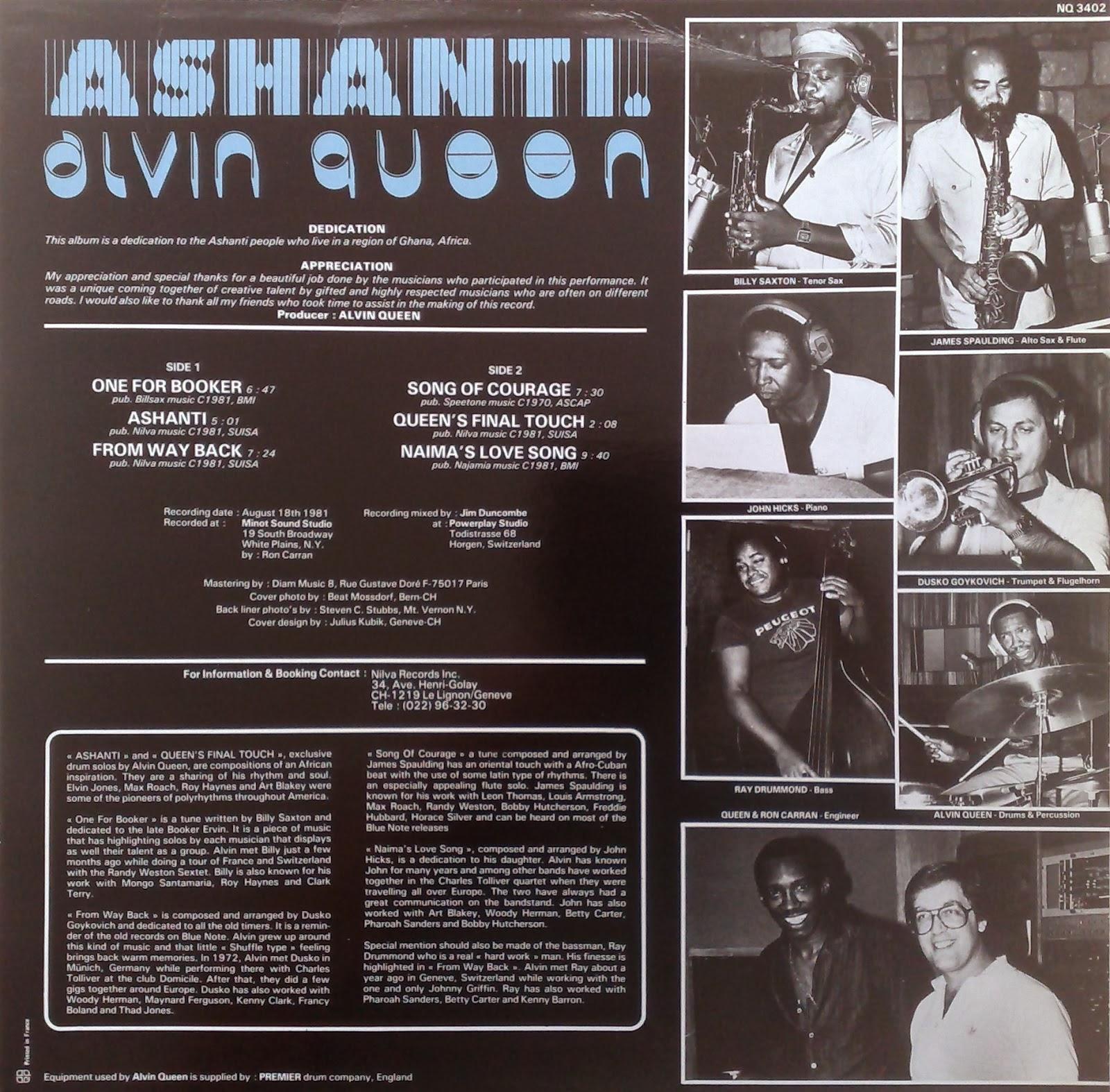 Alvin Queen Ashanti