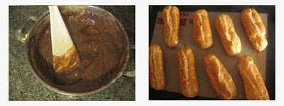 Eclair %25C3%25A0 la vanille3 Eclairs au chocolat