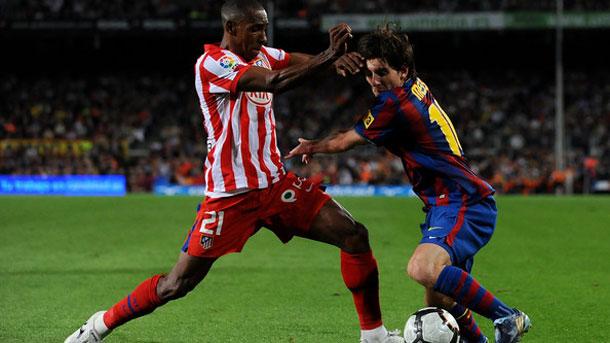 Luis Perea confía en que el Atlético plante cara al Barça