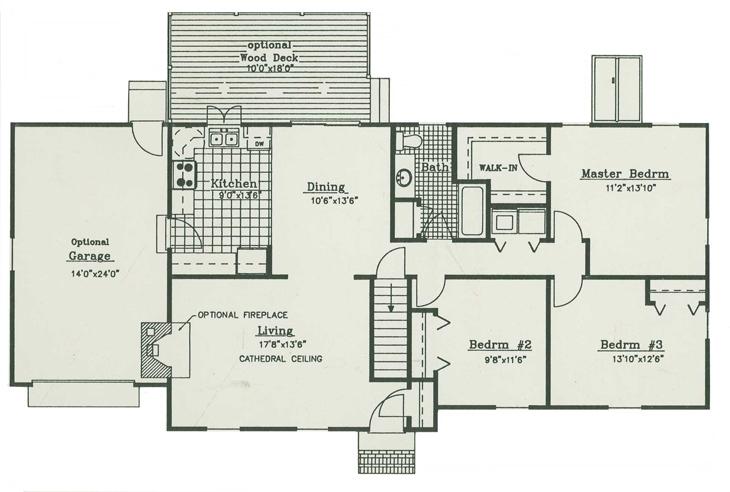 House Plan Blueprint Architect Design - House Design Plans