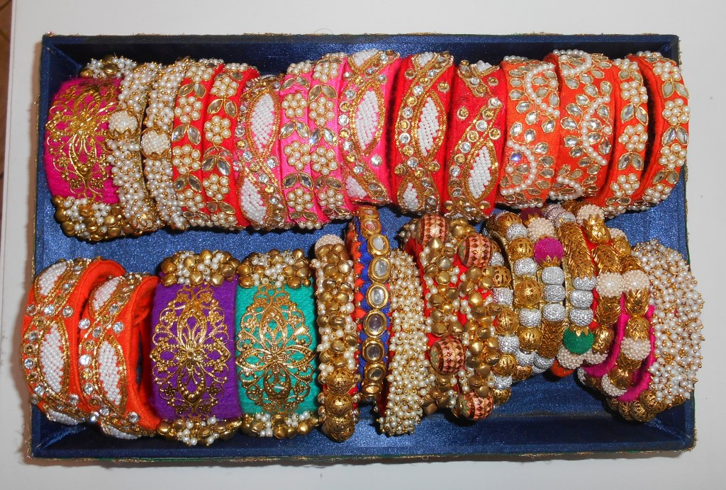 beautiful vibrant bangles are perfect as return gifts for a wedding