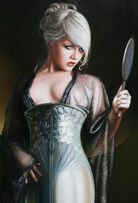 figura-humana-pintada en realismo-al-oleo