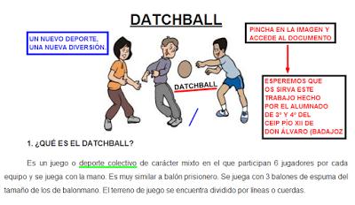 Resultado de imagen de datchball
