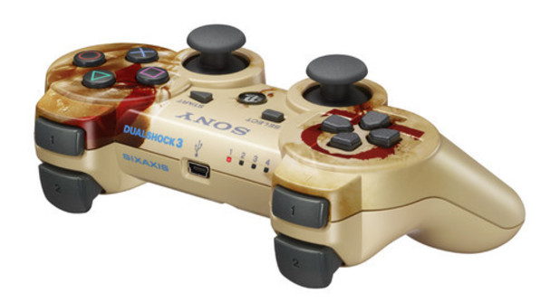 God Of War: Ascension DualShock 3 Controller Revealed
