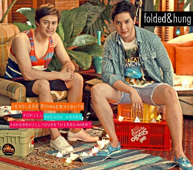 Alden Richards and Enrique Gil