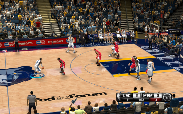Grizzlies HD Court | NBA 2K14 PC Mod