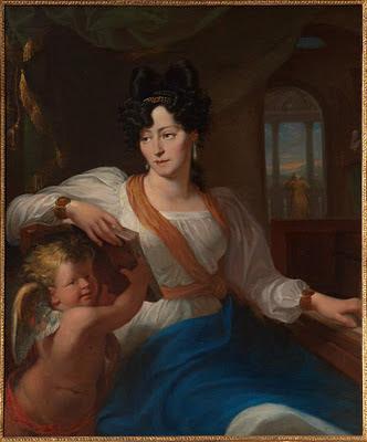 Portrait of Maria Szymanowska by Wankowicz, Polish Library, Paris