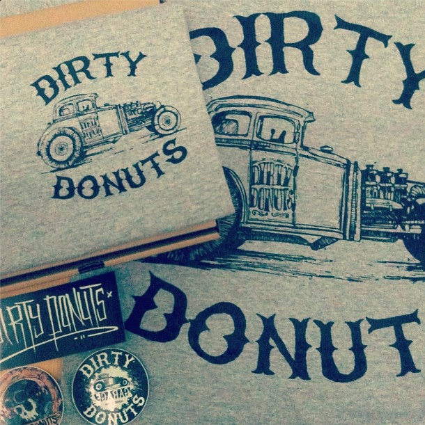 Dirty Donuts like hot rod