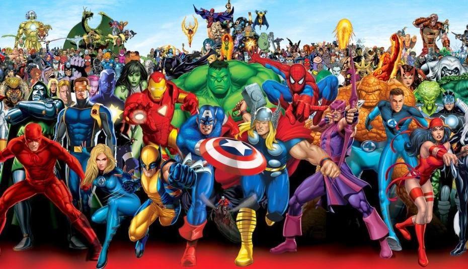 Marvel Heroes Wallpaper