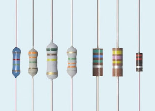 Exemplo de resistores