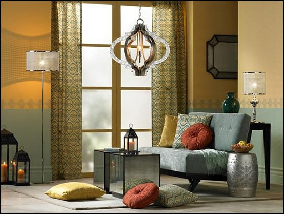 Modern Moroccan Living Room Decor