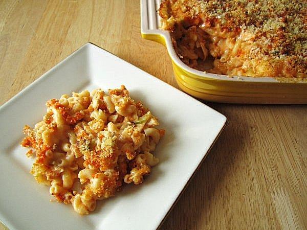 Mission: Food: Birthday Buffalo Chicken Macaroni and Cheese