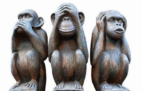 Le 3 scimmiette