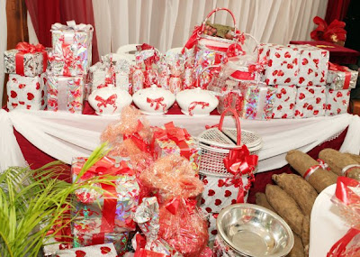 Wedding Gift Ideas Nigeria : JustWeddings Inspired! from Nigerias Wow* Factor Planners: ERU \IYAWO