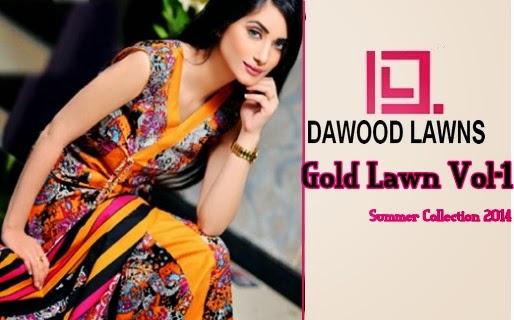 Dawood Gold Lawn 2014
