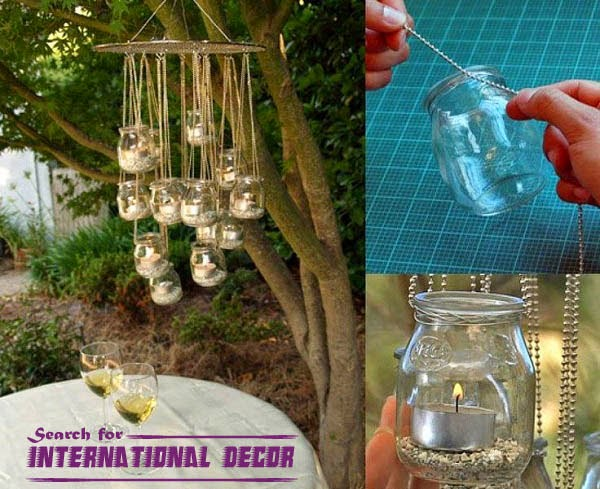 Creative recycle ideas, recycle ideas, recycled chandelier